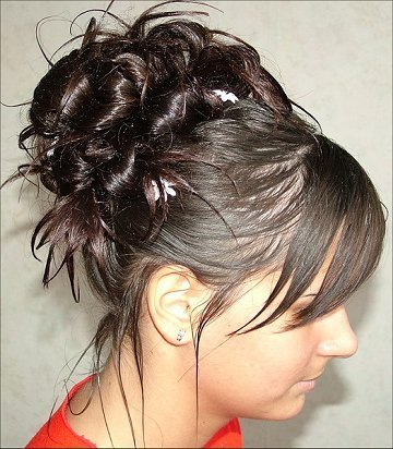easy updo hairstyles for long hair. Easy Prom Hairstyle Updos 2009