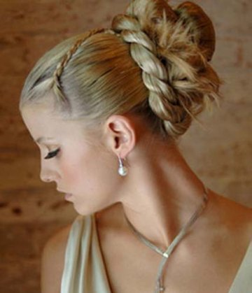 Easy updo prom hairstyle