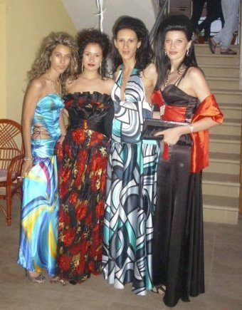 Exotic long prom dresses 2010