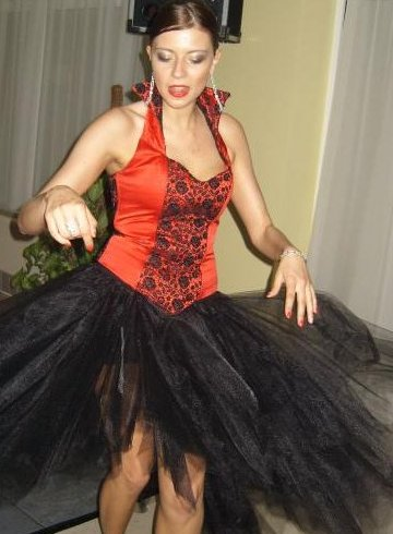 black red xtreme dress 2010