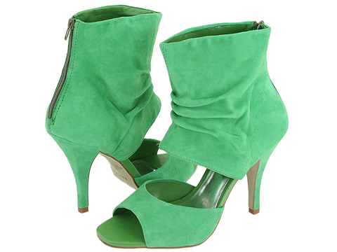 Green prom shoes 2010