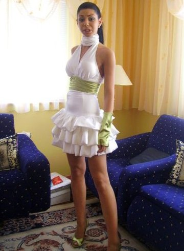 White Short Dress on Exotic Prom Dresses  Sexi Xtreme Prom Dresses 2010   Prom Night Styles