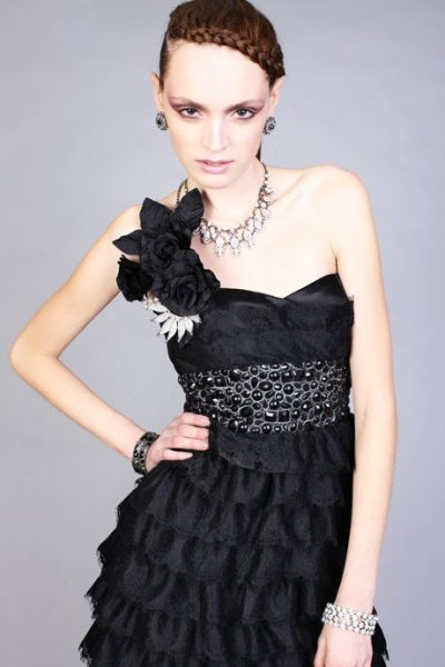 black jovani prom dress 2010
