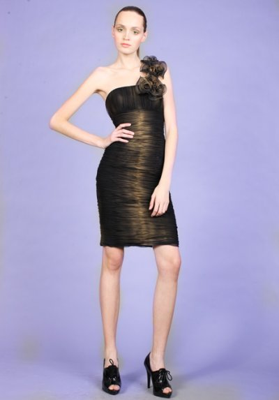brown gold jovani prom dresses 2010