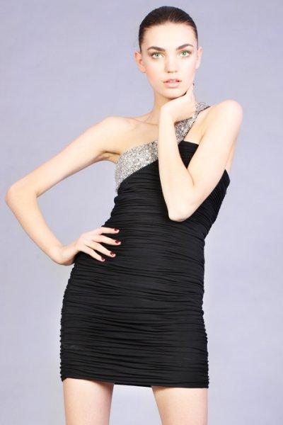 short black jovani prom dress 2010