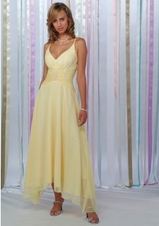 cheap prom dress 2010 yellow prom dress