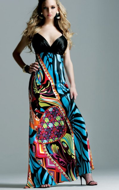 faviana prom dresses 2010 - colorful prom dress
