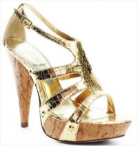 Gold prom shoes 2010