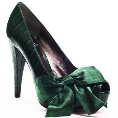 green prom shoes heels