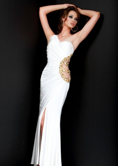 Site Blogspot  White Dress on Dream Artists  White Prom Dress 2010