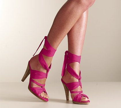 pink prom shoes 2010