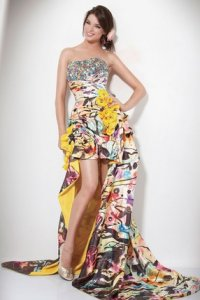 exotic jovani prom dress 2011