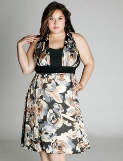 short plus size dress