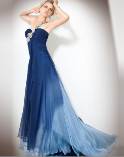 blue jovani prom dress 2011