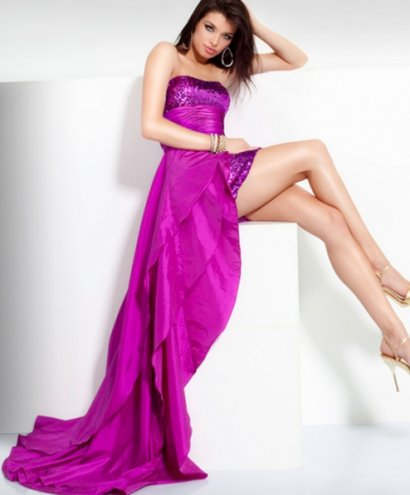 Pink Sequined Prom Dress 2011 By Jovani | Prom Night Styles