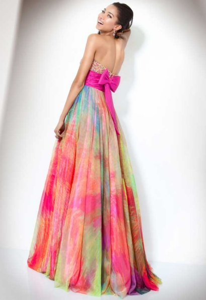 Rainbow Prom Dress 2011 By Jovani - Prom Night Styles