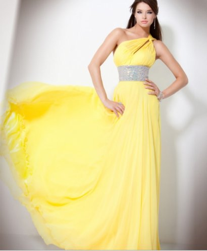 Yellow Jovani Prom Dresses 67