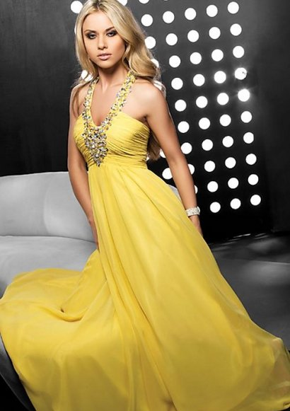 Gorgeous Yellow Prom Dresses 2011 by Jovani
