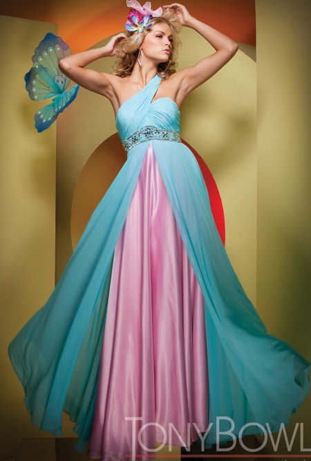 Pink and night blue bridesmaid dresses bridesmaid dresses for Pink and blue wedding dresses