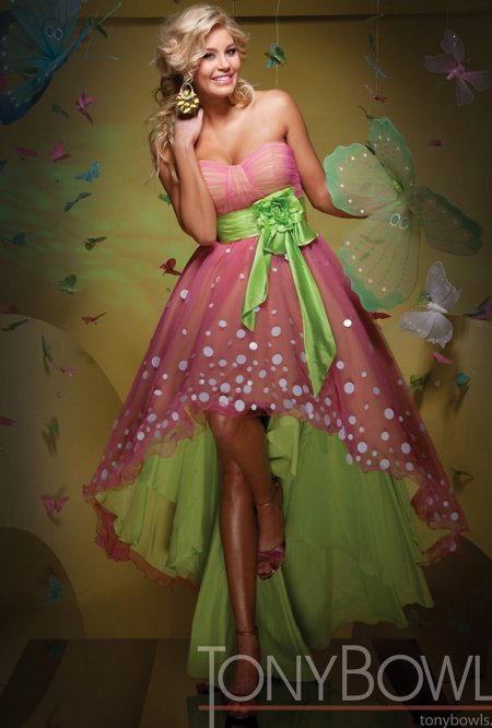 Pink And Green Wedding Dresses 53