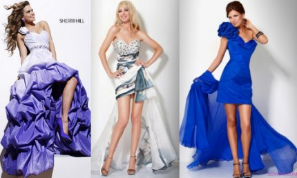 high low prom dresses 2012
