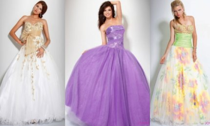 prom ball gowns 2012