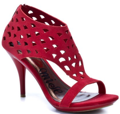 cute red prom shoes 2012