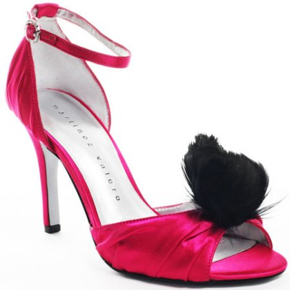 fancy red prom shoes 2012