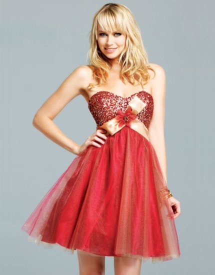 hot red prom dresses 2012 prom night styles