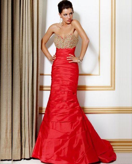 Hot Red Prom Dresses 2012 | Prom Night Styles