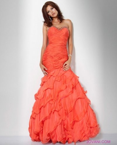 mermaid prom dress 2012