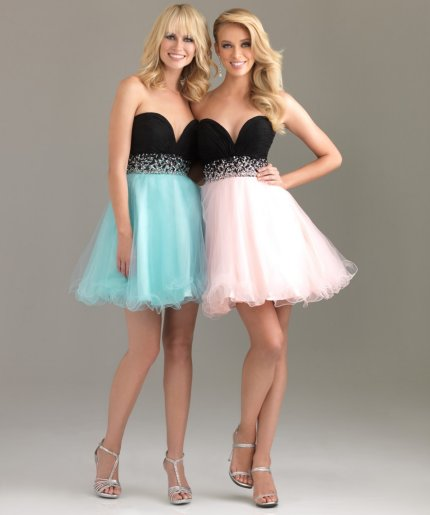 Short Flowy Prom Dresses