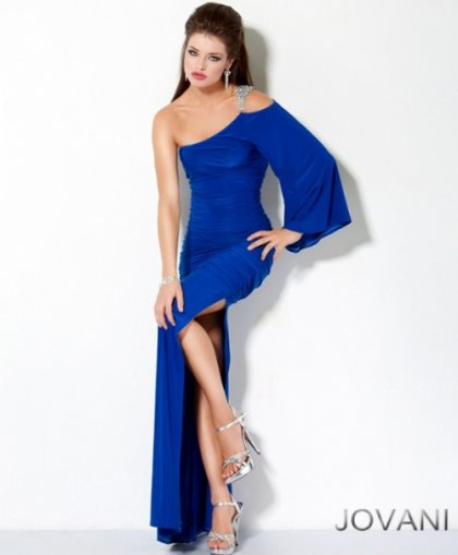 one shoulder prom dresses 2012
