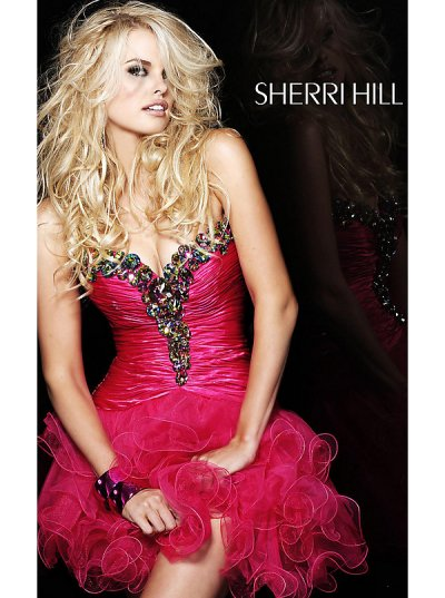 short sherri hill prom dresses 2012