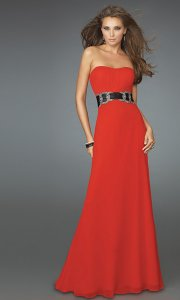 affordable red prom dress