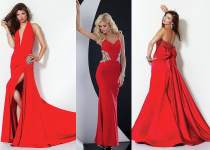 cheap red prom dresses under 100