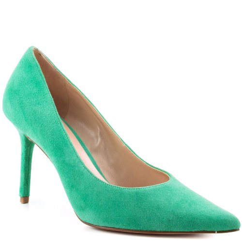 pointy green prom shoes 2013 by Guess Rolene 2