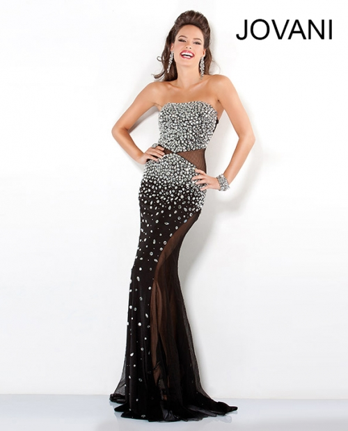 black sexy sequin prom dresses 2013