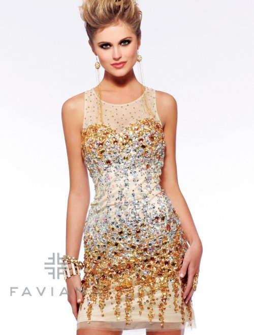 s7158 yellow diamond sexy short prom dress 2013 with open back-