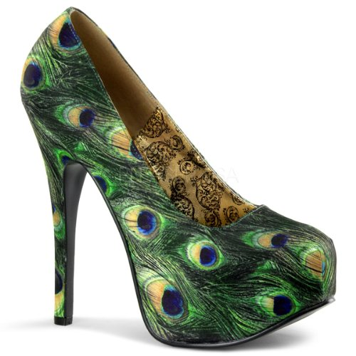 peacock prom shoes pumps 2014