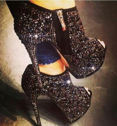 high heel sparkling prom shoes 2014 prom styles