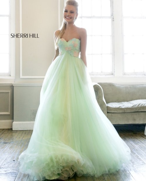Gorgeous Mint Green Prom Dresses 2014 | Prom Night Styles