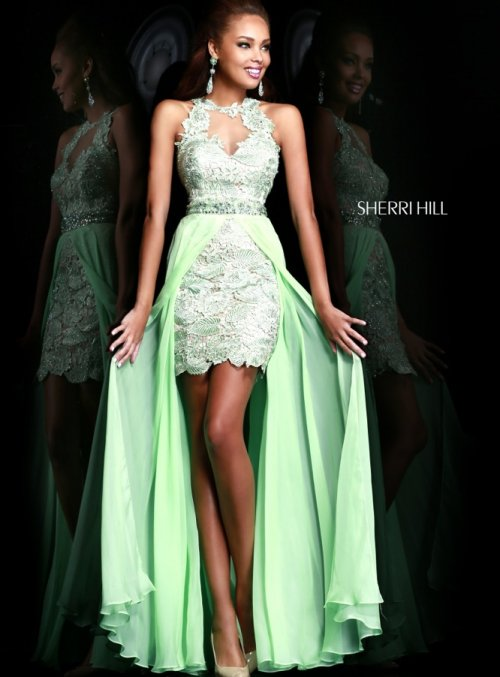Gorgeous Mint Green Prom Dresses 2014 | Prom Night Styles Lace Prom Dresses 2014