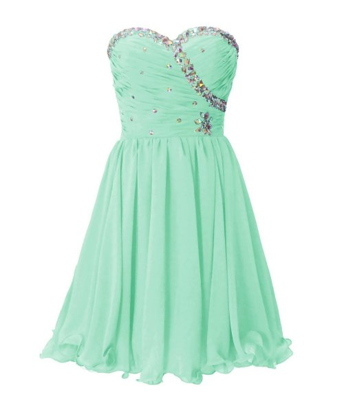 Dresstells embellished mint prom dress 2015