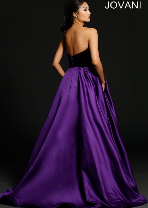 212211 long purple prom ball dress 2015 Jovani-