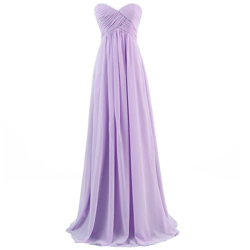 Dresstells lilac strapless prom dress 2015