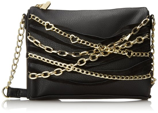 Betsey Johnson Chain Hang Cross Body