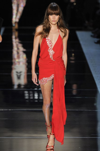 Alexandre Vauthier SS 2016  sexy red prom dress