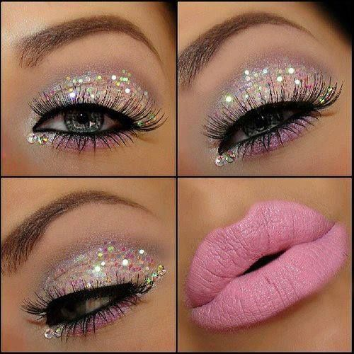 Cute Pink Prom Makeup Ideas 2014 Prom Night Styles