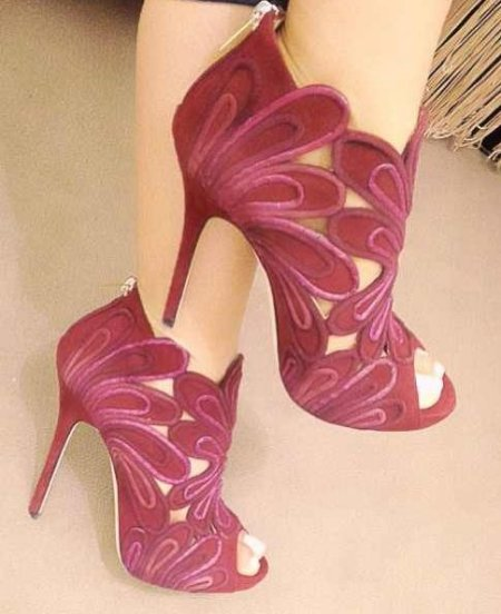 hot products release date: best authentic Sexy Pink High Prom Shoes 2014 | Prom Night Styles